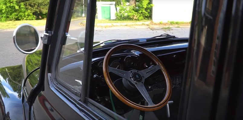 Видео: невероятный пикап Toyota Сrown с кабиной ГАЗ-52 2