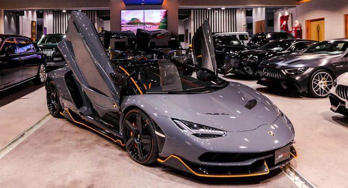 Родстер Lamborghini Centenario продают за 4 миллиона долларов 1