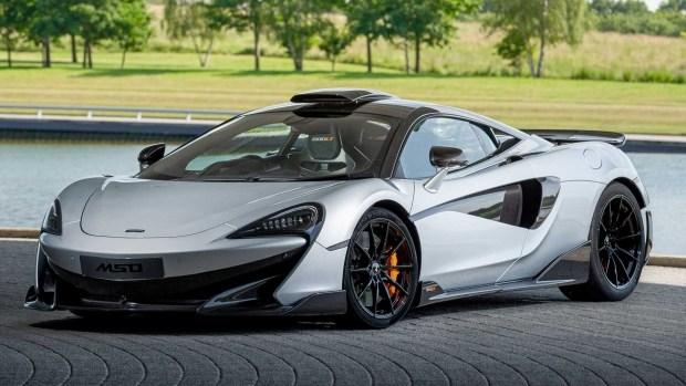 McLaren попрощался с суперкаром 600LT 1