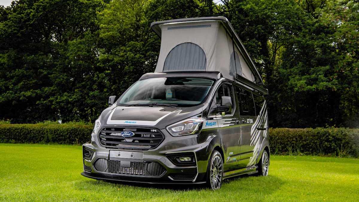 Ford Transit Custom превратили в спортивный дом на колёсах 1