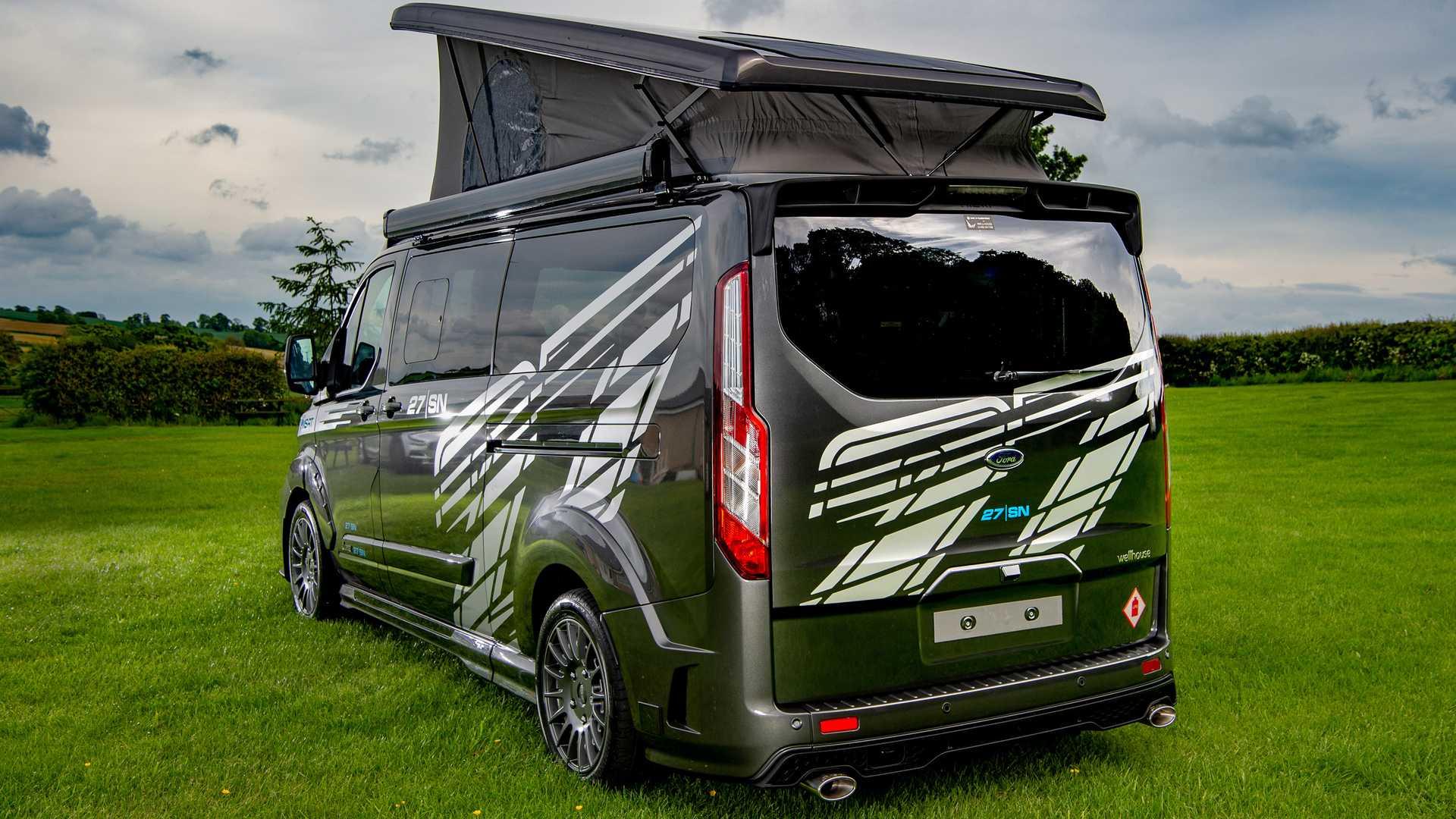Ford Transit Custom превратили в спортивный дом на колёсах 2
