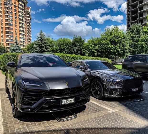 В Украине заметили очень необычный Bentley Continental GT 2019 1