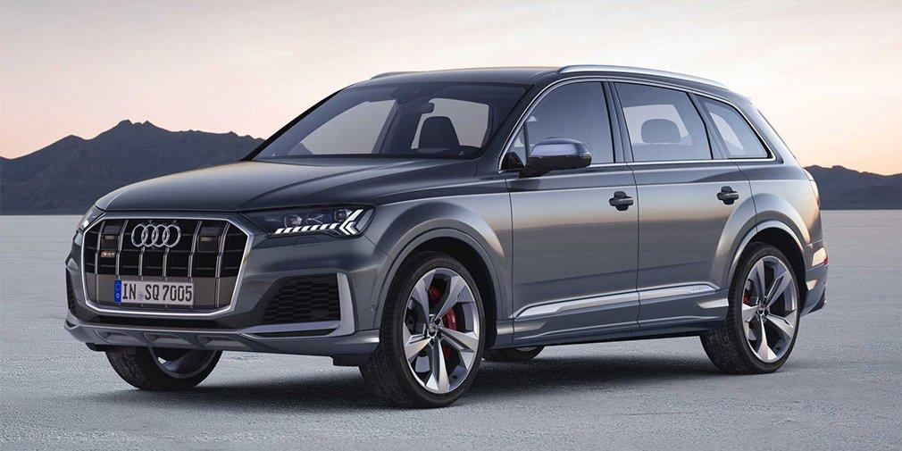 Audi представила обновленный кроссовер SQ7 3