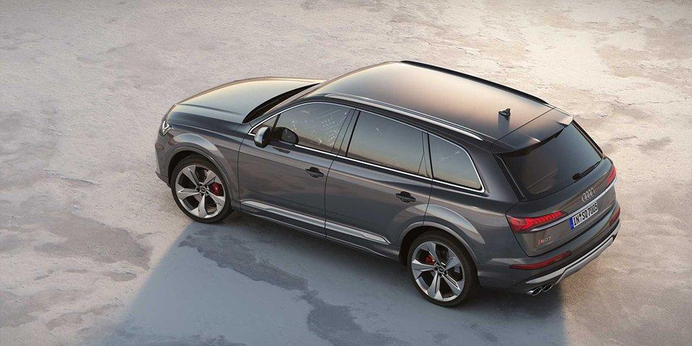 Audi представила обновленный кроссовер SQ7 1