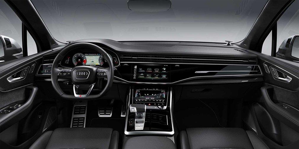 Audi представила обновленный кроссовер SQ7 4