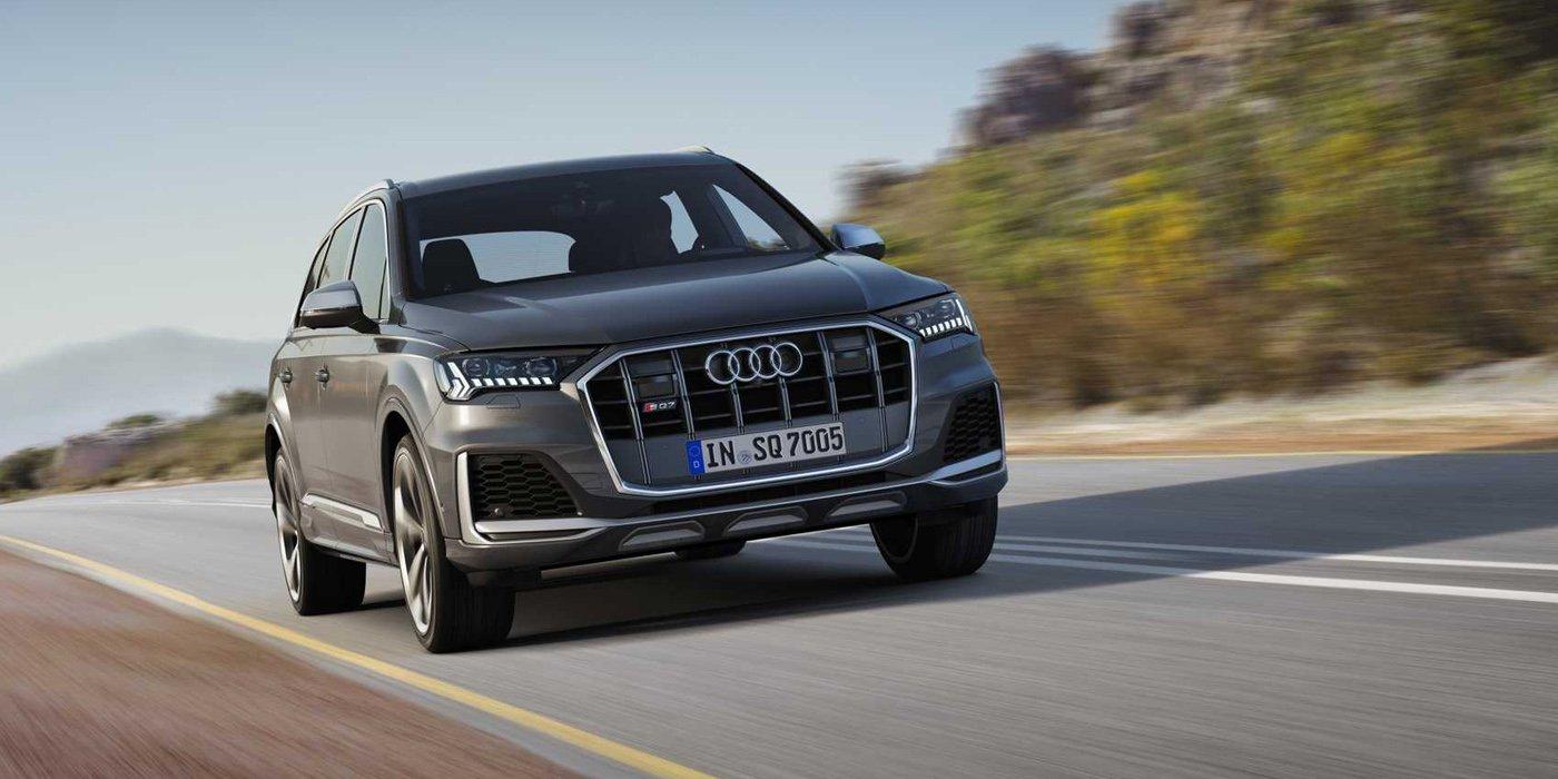 Audi представила обновленный кроссовер SQ7 2