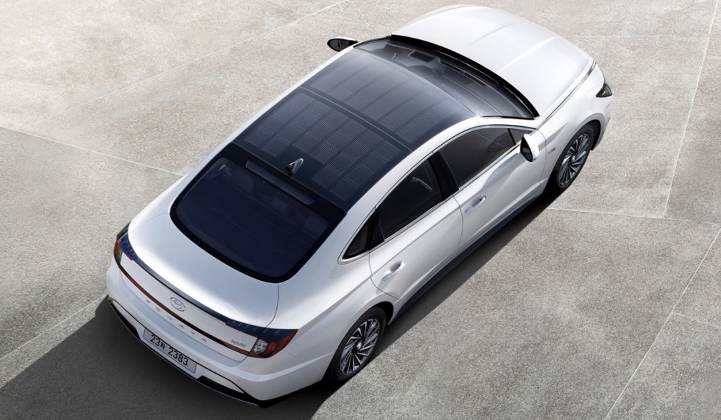 Hyundai представил Sonata с солнечной батареей 2