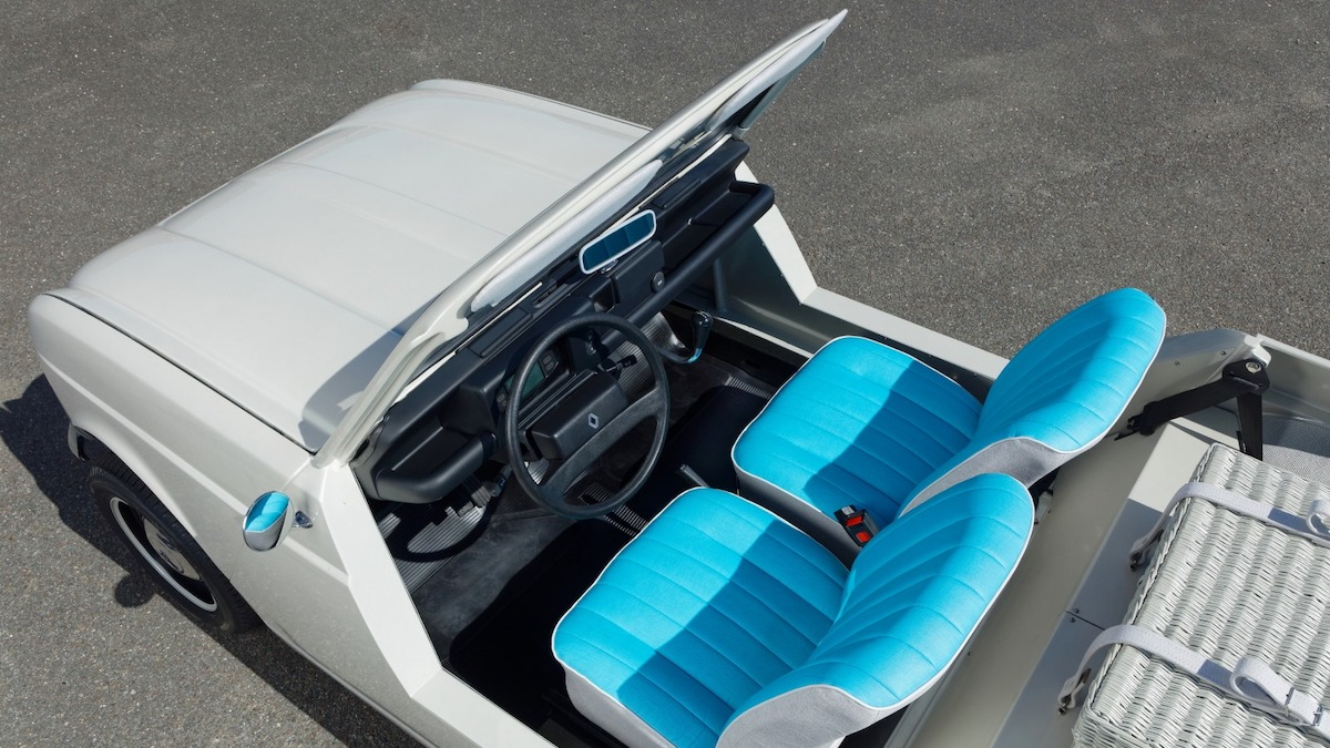 Марка Renault построила концепт из 51-летнего кабриолета 1