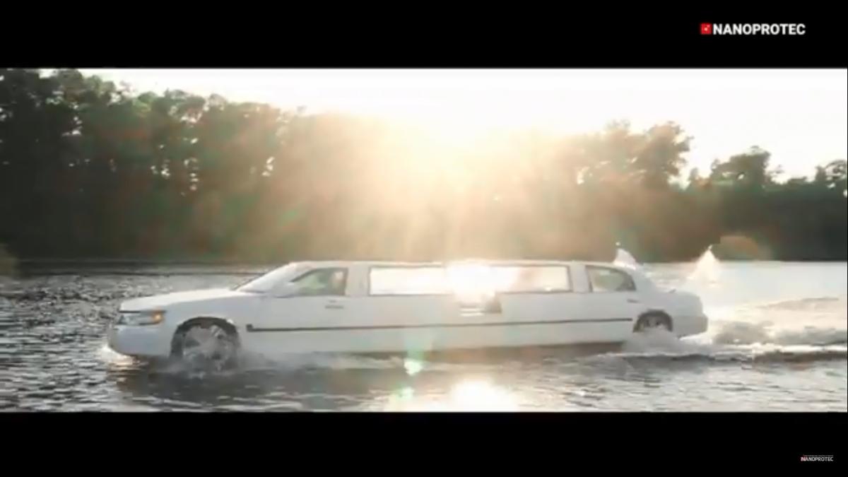 На что способен сделанный в Украине плавающий лимузин 2