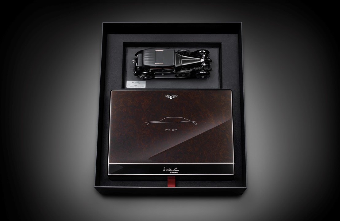 Bentley подготовила футляры для ключей к юбилейному Mulsanne 1