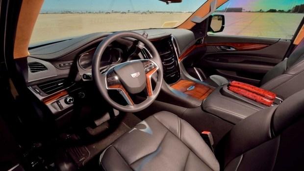 Удлиненная версия внедорожника Cadillac Escalade выставлена на продажу 2