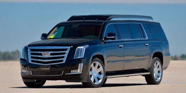 Удлиненная версия внедорожника Cadillac Escalade выставлена на продажу 3