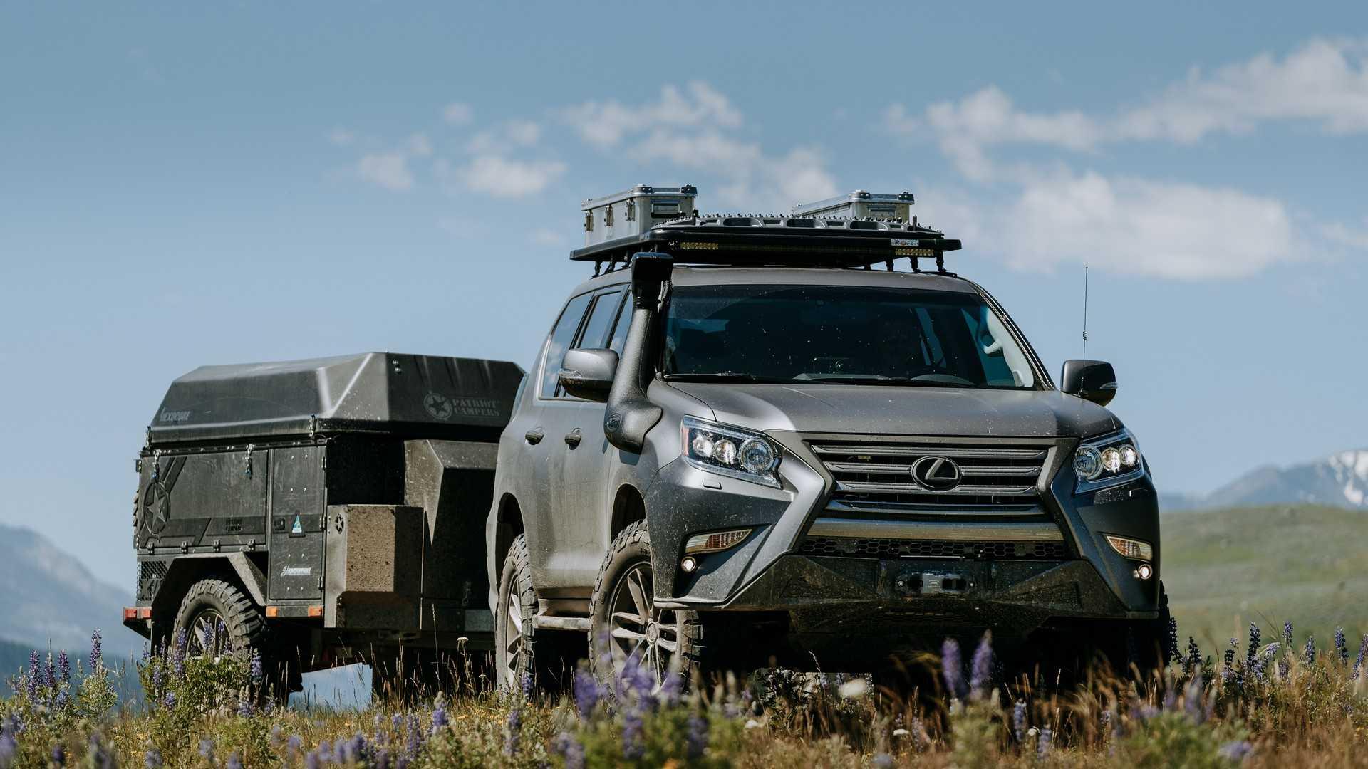 Lexus превратил GX в хардкорный внедорожник 1