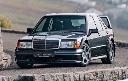 Как выглядит Mercedes 190 E за 320 000 евро 1