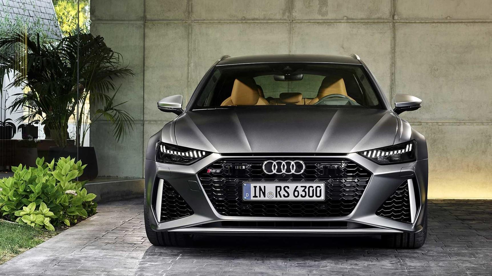 У Audi появился 600-сильный и очень красивый «сарай» 1