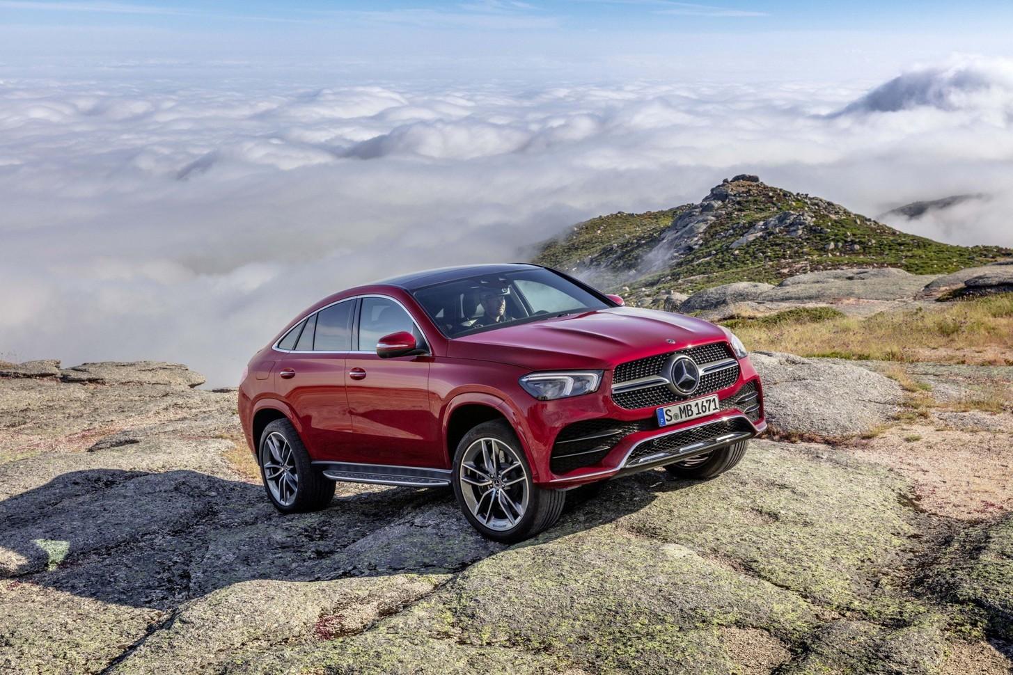 Новый необычный Mercedes: еще один внедорожник-купе 1