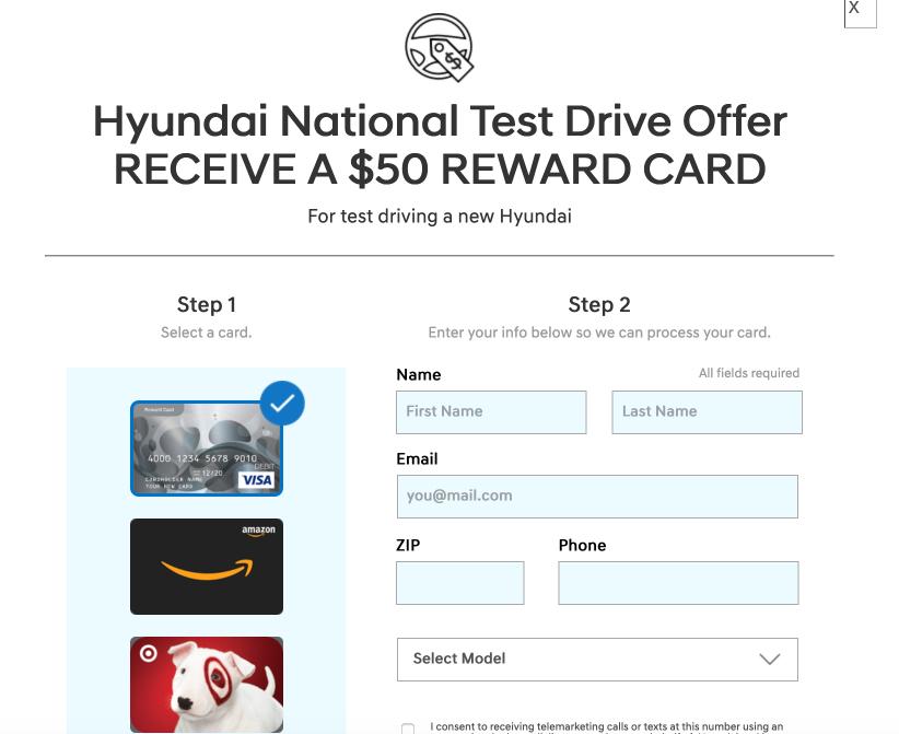 Hyundai будет платить за тест-драйв своих машин 1