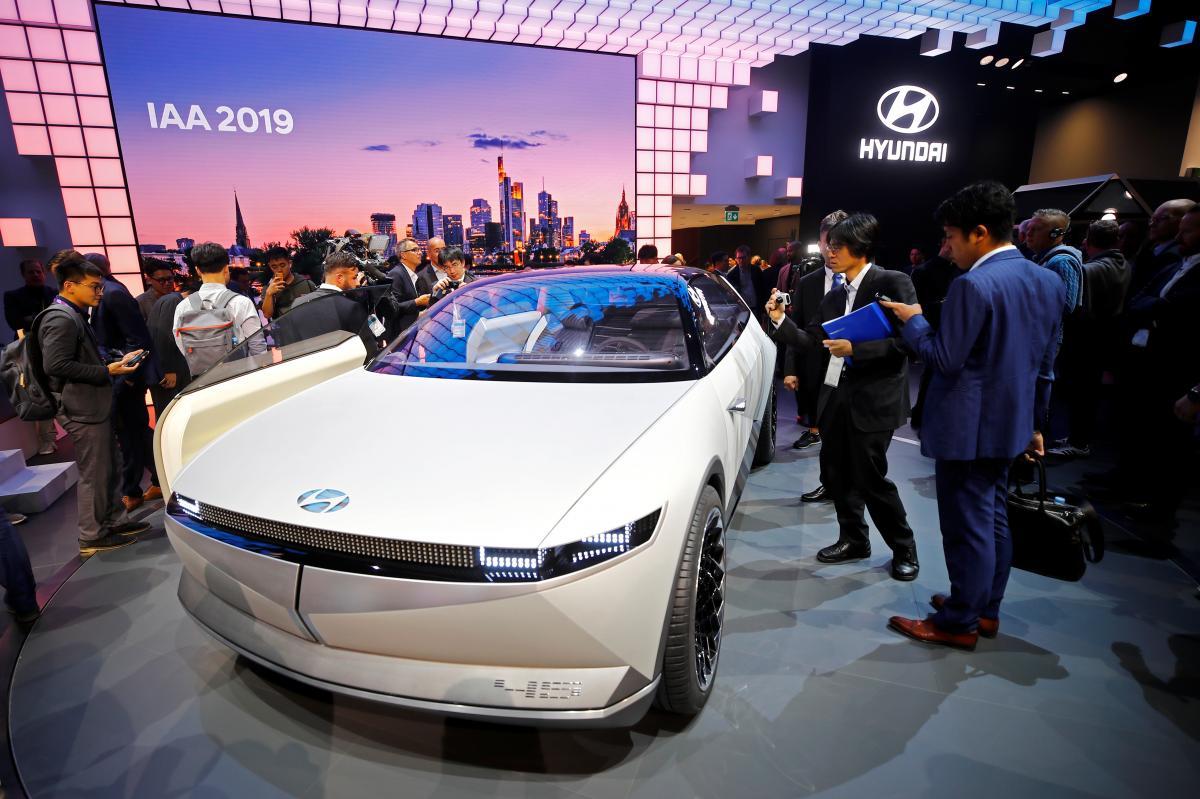 Hyundai представил электрокар 45 1