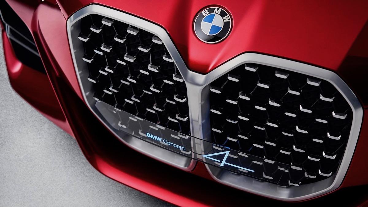 Концепт BMW 4 серии получил огромную решётку 1