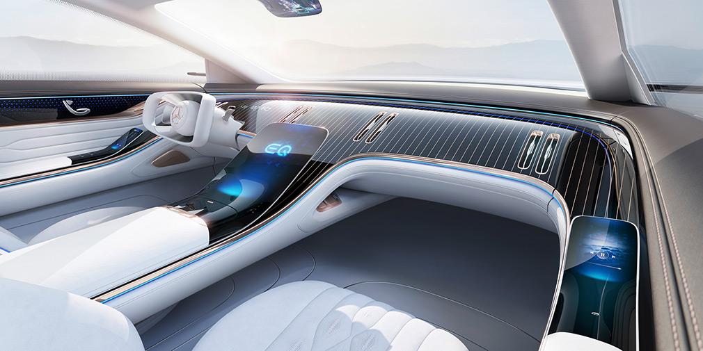 Mercedes-Benz презентовал роскошного конкурента Tesla Model S 2