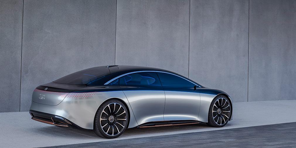 Mercedes-Benz презентовал роскошного конкурента Tesla Model S 1