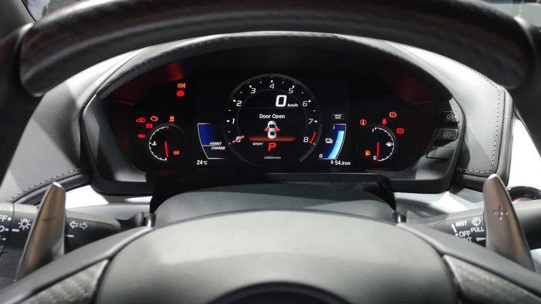 Состоялся дебют новой Honda NSX 2