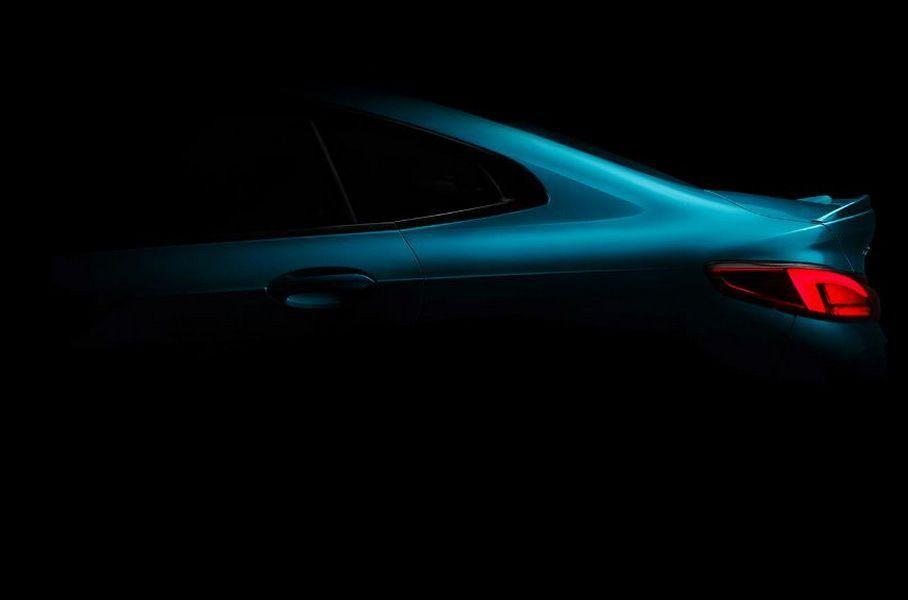 Первые фото нового маленького седана BMW 2