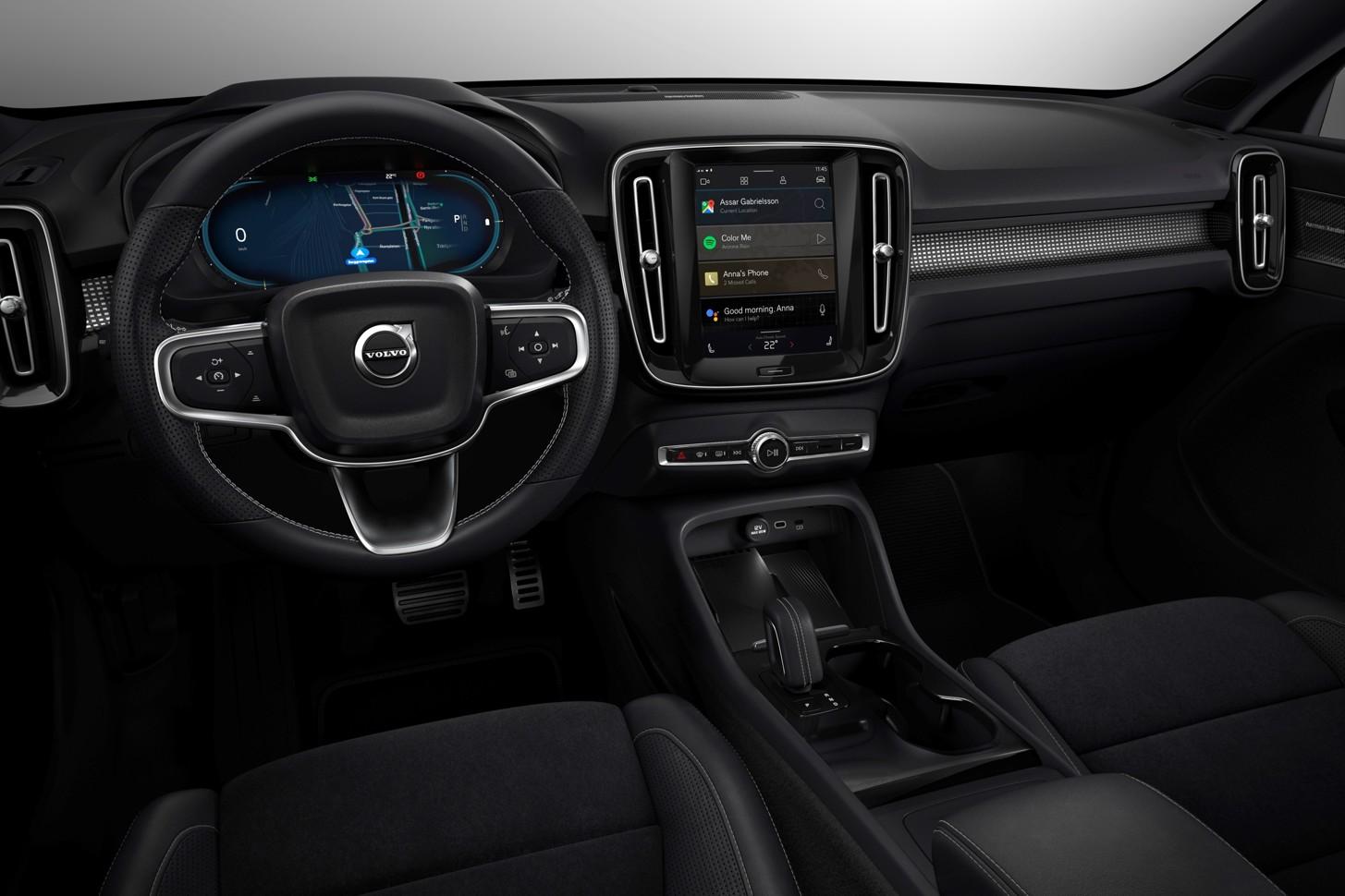 Компания Volvo представила самый крутой электрокроссовер 3