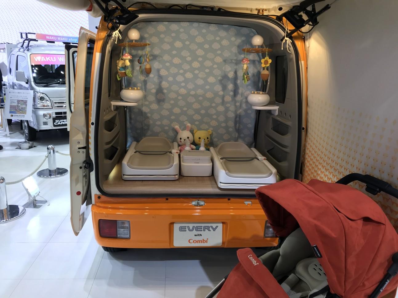 Автосалон в Токио: Suzuki презентовала автомобиль для мам 3