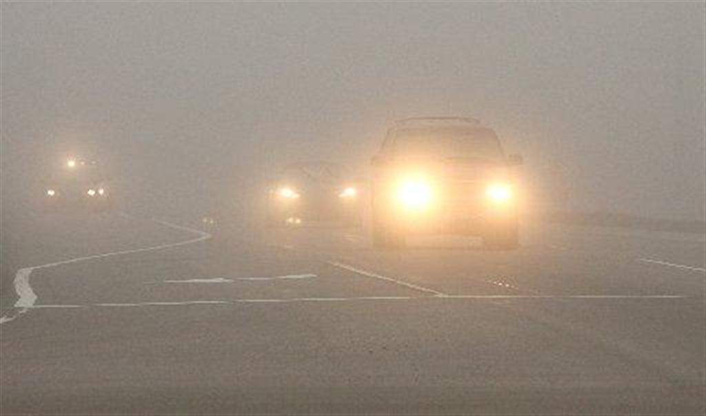 Густой туман вновь окутал Украину 1
