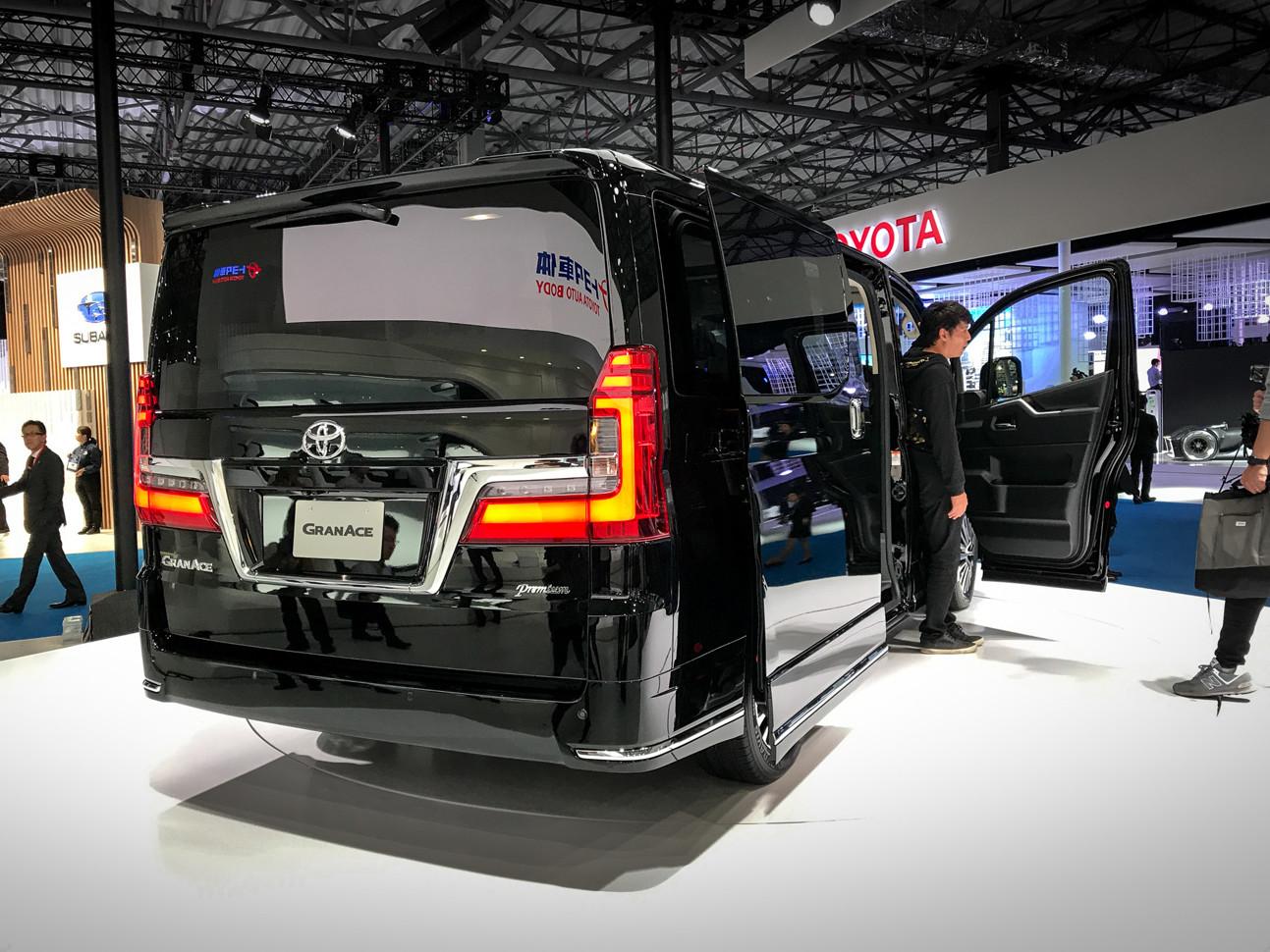 Автосалон в Токио: представлена по-настоящему богатая Toyota 4