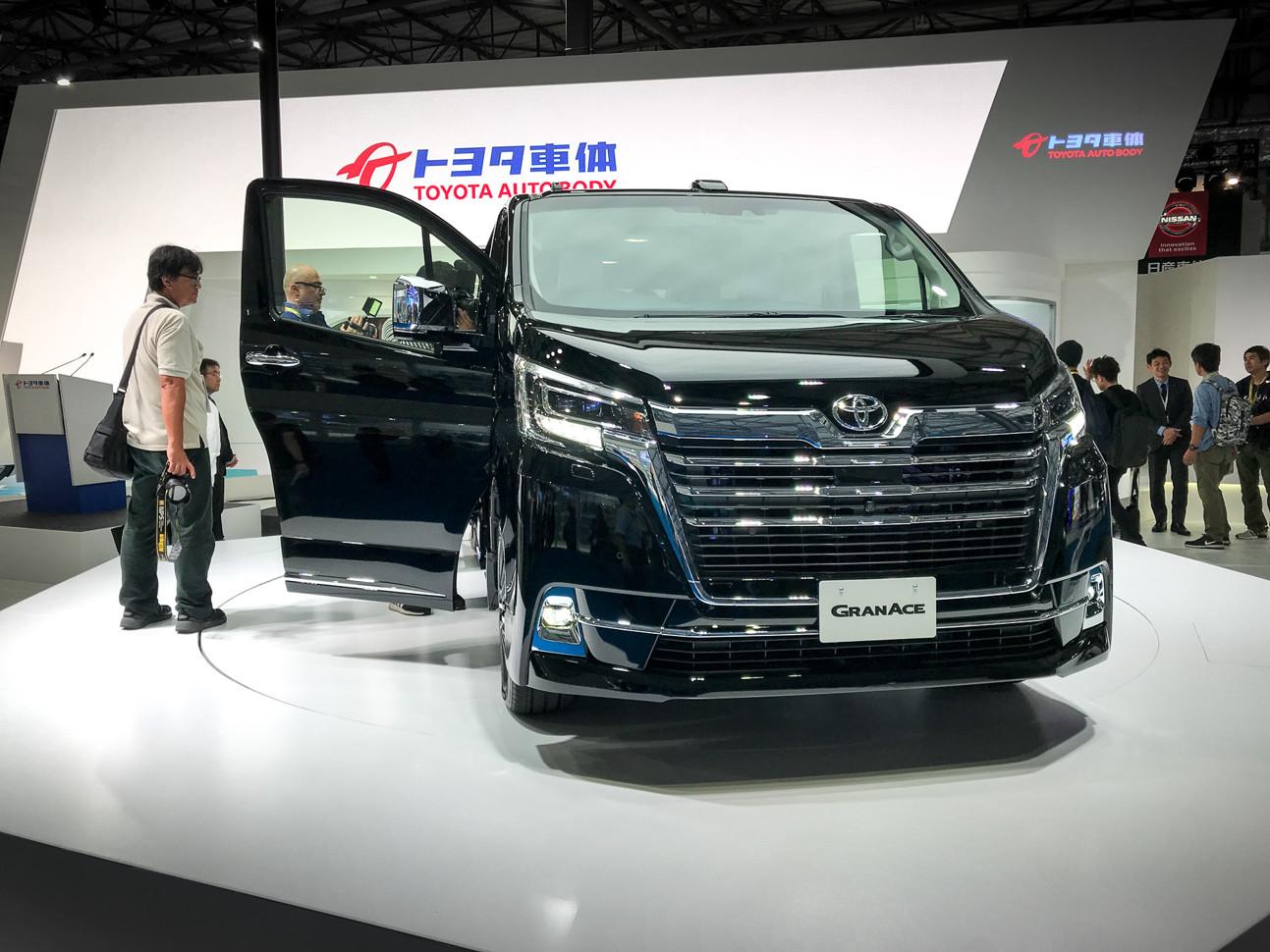 Автосалон в Токио: представлена по-настоящему богатая Toyota 1