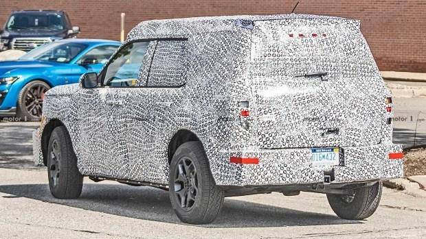 В Сеть слили эксклюзивное фото нового кроссовера Ford 2
