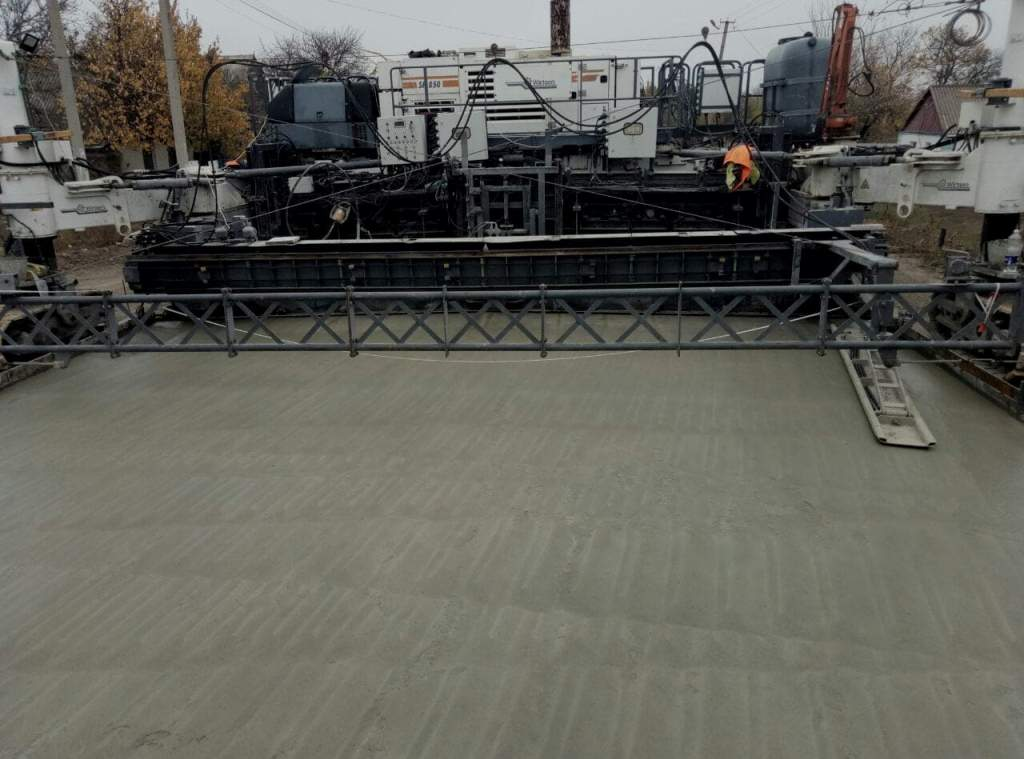 При реконструкции трассы Николаев – Кропивницкий используют полиэтилен 1