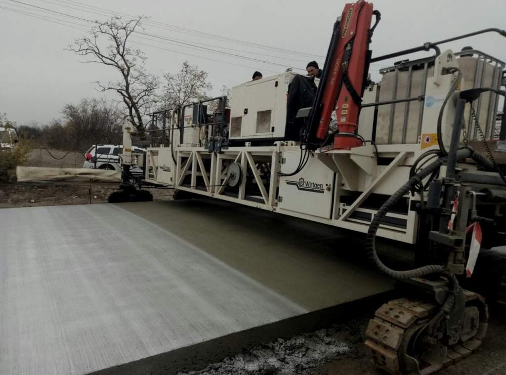 При реконструкции трассы Николаев – Кропивницкий используют полиэтилен 2