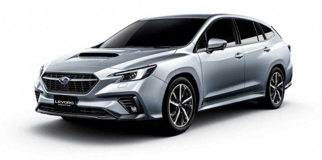 Subaru показала универсал Levorg нового поколения 1