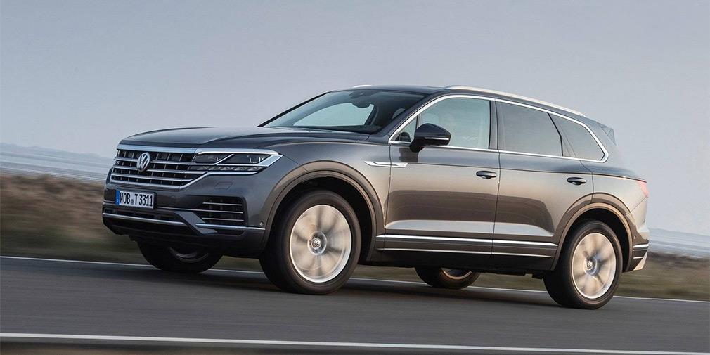 В Volkswagen дали зеленый свет «заряженному» Touareg 1