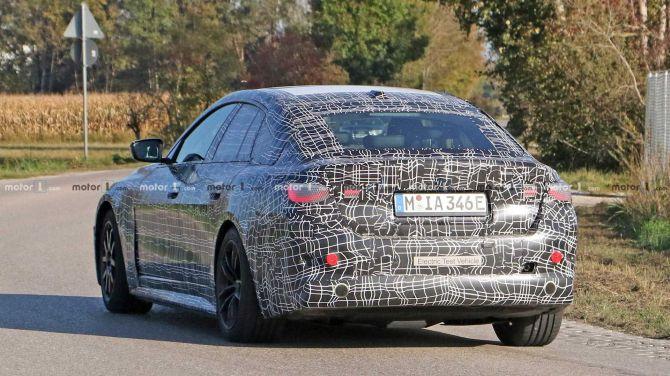 Предсерийный прототип BMW i4 замечен во время испытаний 2