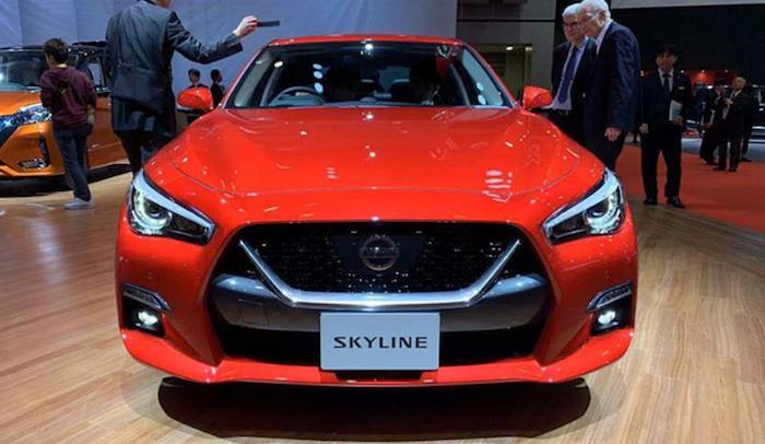 Автосалон в Токио: состоялся дебют нового Nissan Skyline 1