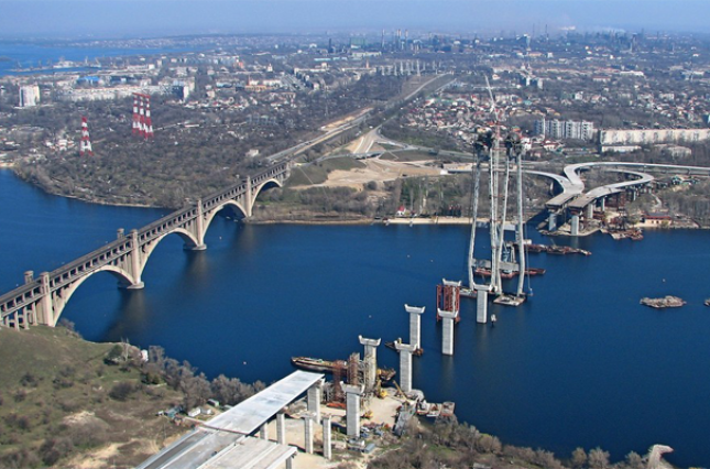 Строительством мостов в Запорожье займутся китайцы 1
