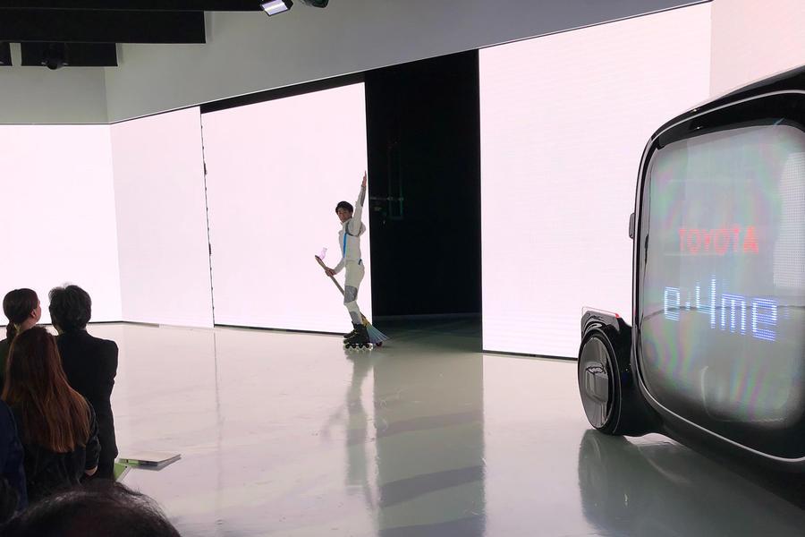 Автосалон в Токио: Toyota презентовала метлу 2