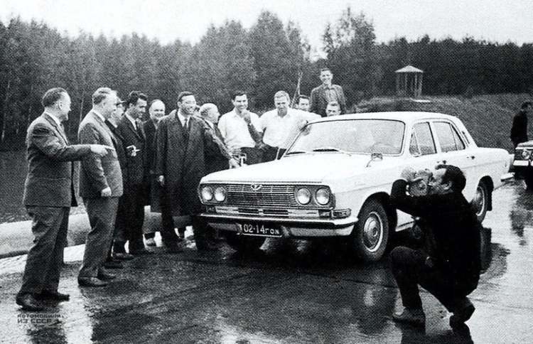 Какой могла быть «Волга» ГАЗ-24 1