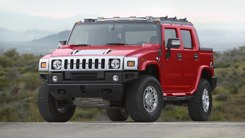 Легендарный Hummer возродится в виде электромобиля 1