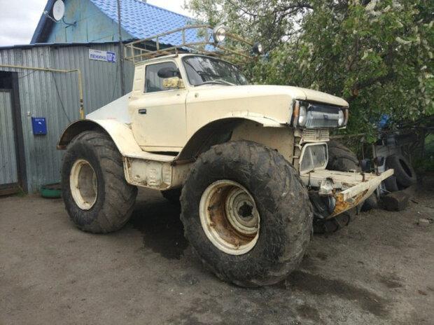 Из «Москвича» сделали уникальный монстр-трак 2