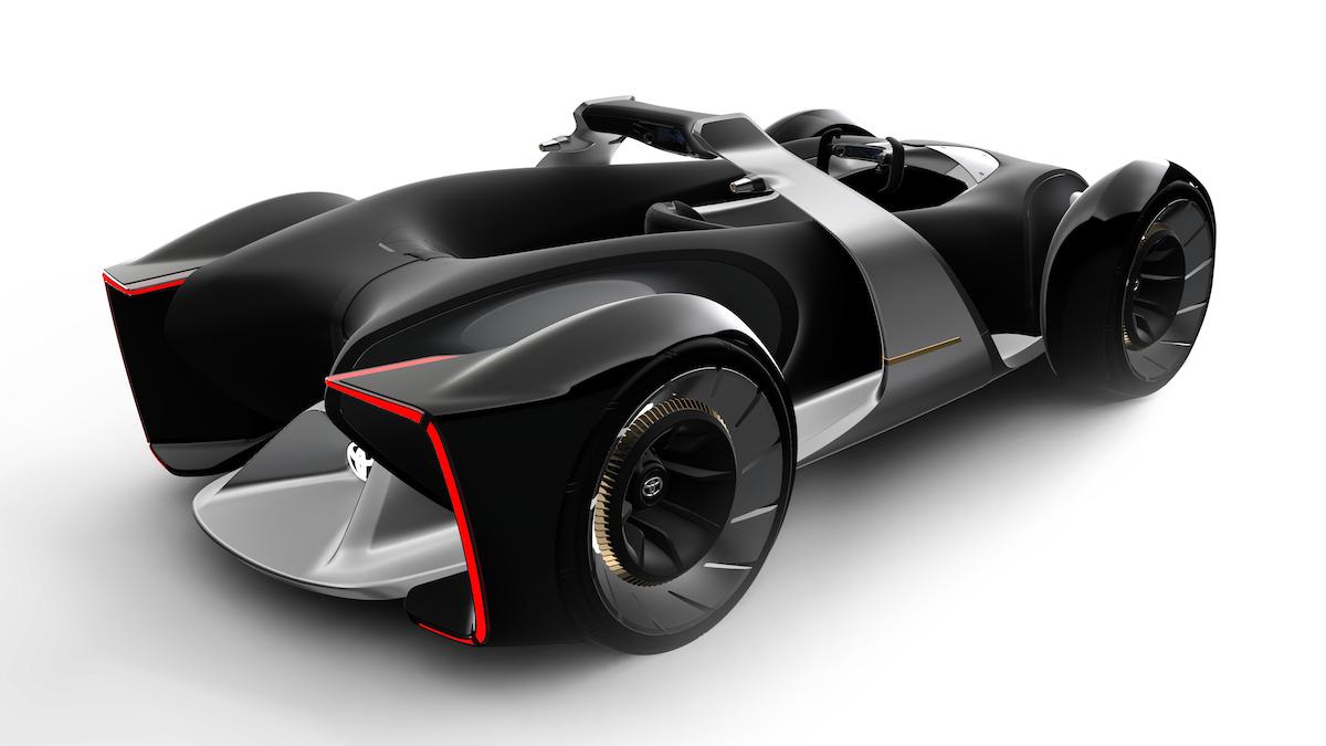 Автосалон в Токио: Toyota представила беспилотный гиперкар 1