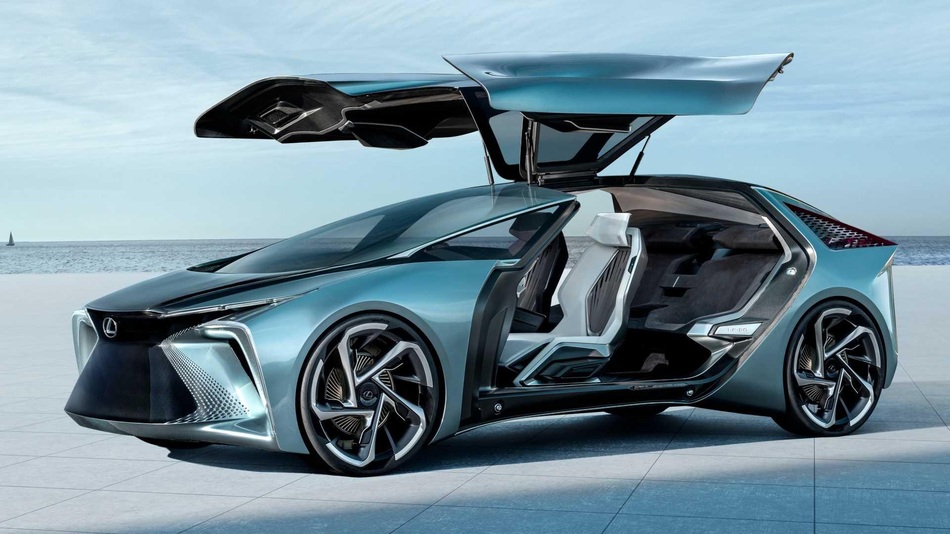 Автосалон в Токио: Lexus презентовал концепт от стеклянной крышей 1