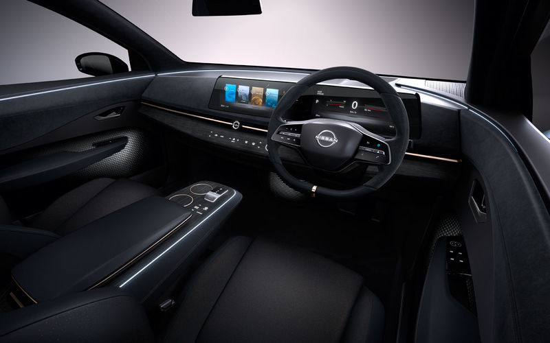 Автосалон в Токио: Nissan представил кросс-купе Ariya 2