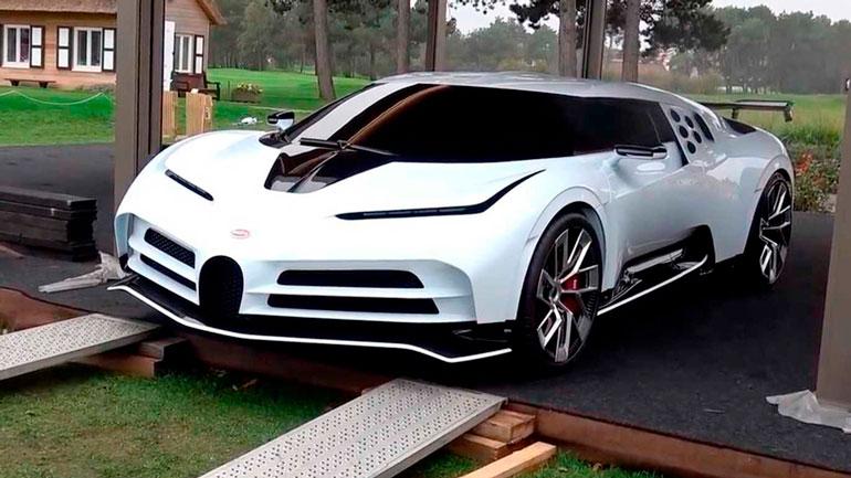 Бесшумный гиперкар Bugatti Centodieci за 9 миллионов долларов показался публике 1