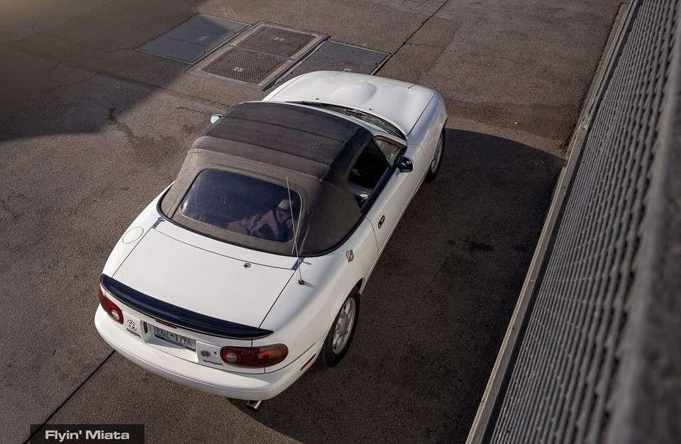 Найдена Mazda MX-5 с пробегом свыше 800 тысяч километров 1