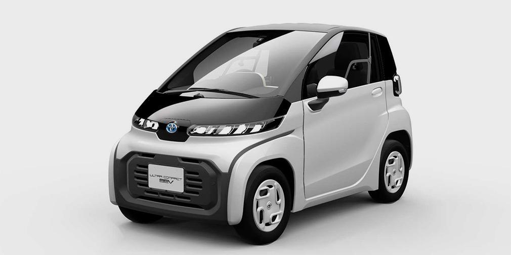 Toyota презентовала очень маленький электромобиль 1